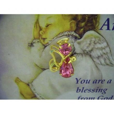 Precious Little Angel Pin Badge
